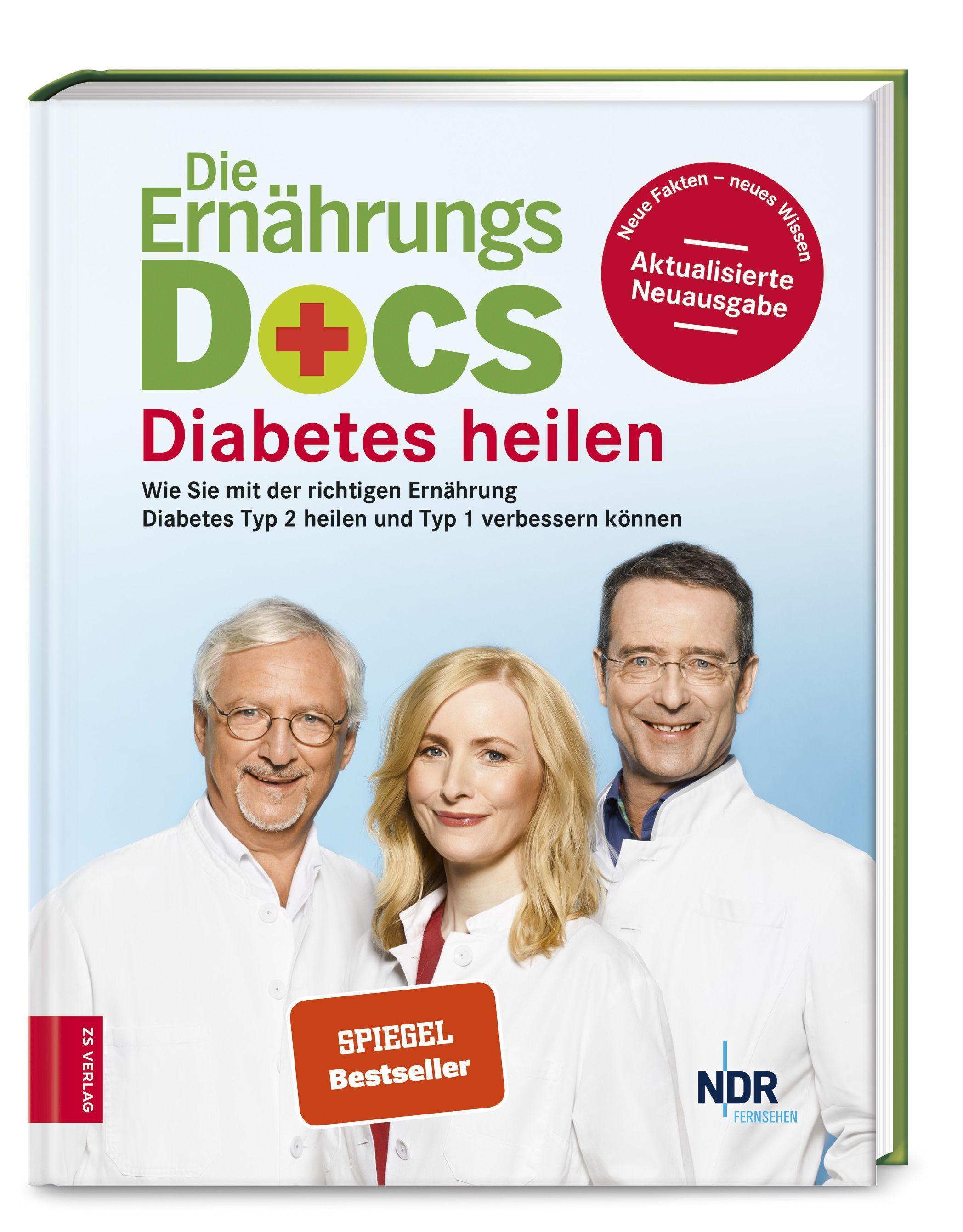 Cover: 9783898839075 | Die Ernährungs-Docs - Diabetes heilen | Matthias Riedl | Buch | 2019