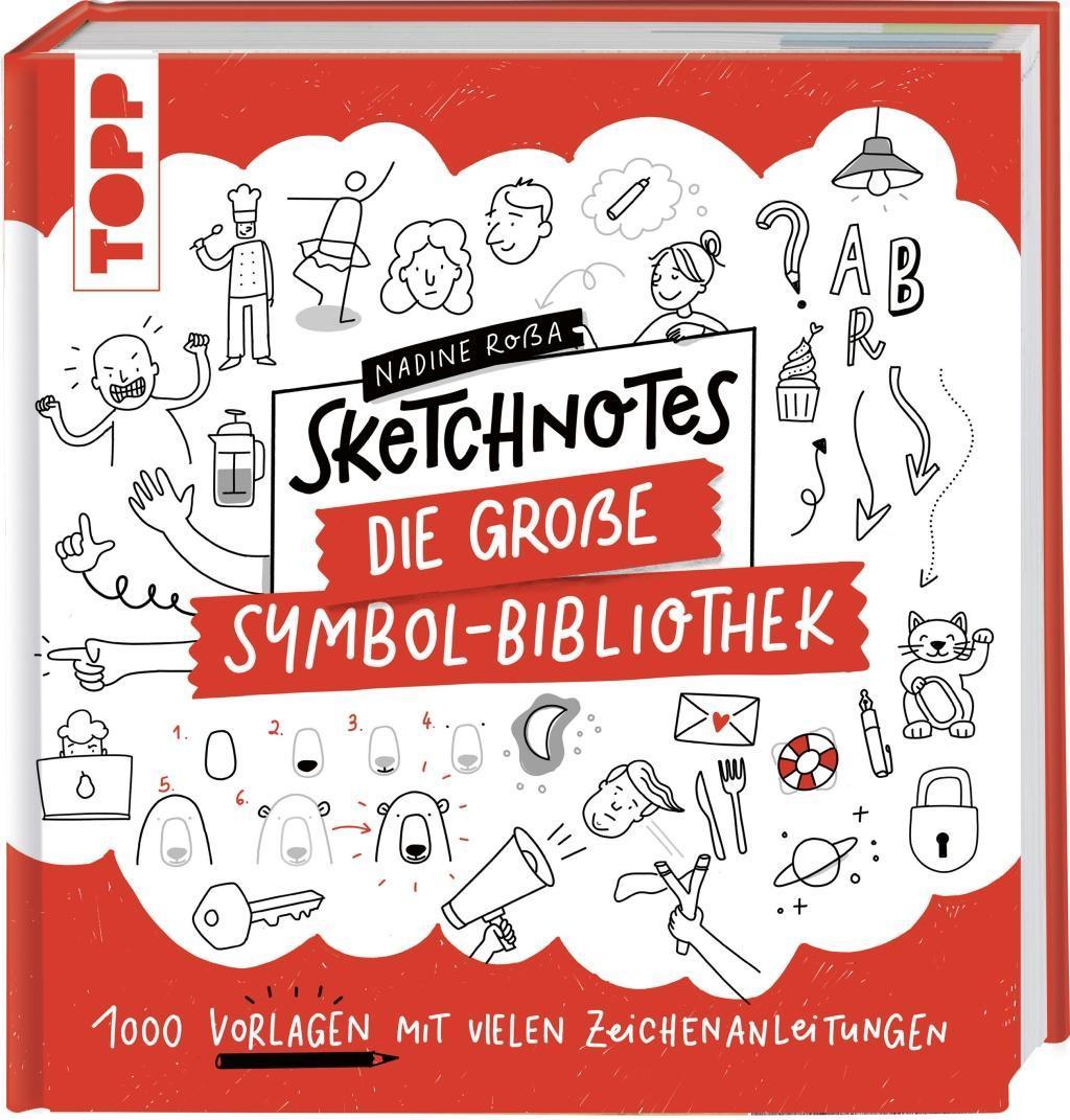 Cover: 9783772483899 | Sketchnotes. Die große Symbol-Bibliothek | Nadine Roßa | Buch | 2020