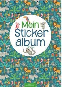 Cover: 4014489125013 | Mein Stickeralbum - Dschungel | Stück | Deutsch | 2020