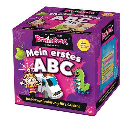 Cover: 5025822949202 | Brain Box - Mein erstes ABC | Greenboardgames | Spiel | Deutsch | 2019