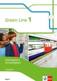 Cover: 9783128030111   Green Line 1. Trainingsbuch Schulaufgaben mit Lösungen und Audio-CDs.