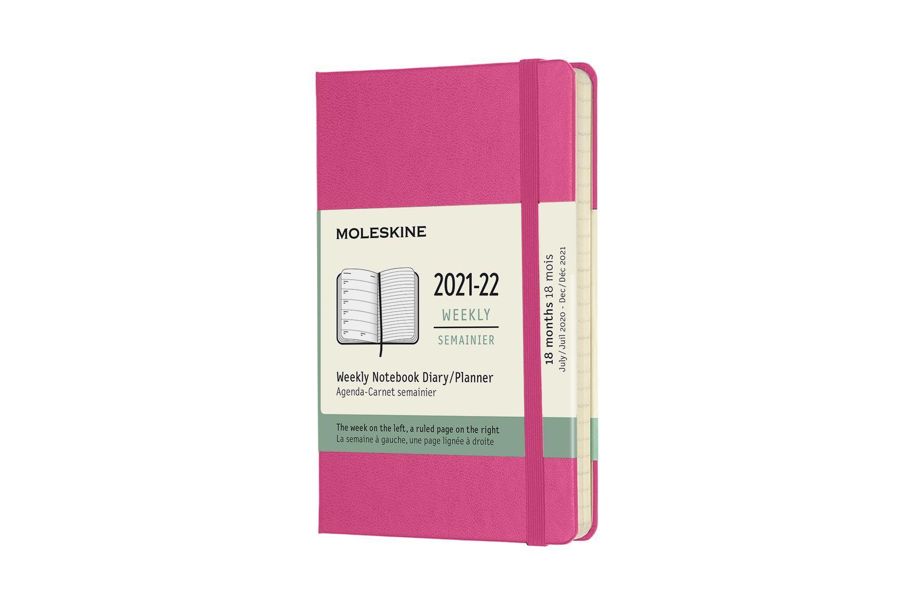 Cover: 8056420858723 | Moleskine 18 Monate Wochen Notizkalender 2021/2022, Pocket/A6, 1 Wo =