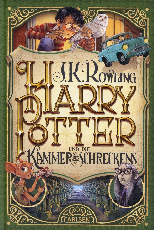 Cover: 9783551557421 | Harry Potter 2 und die Kammer des Schreckens | J. K. Rowling | Buch