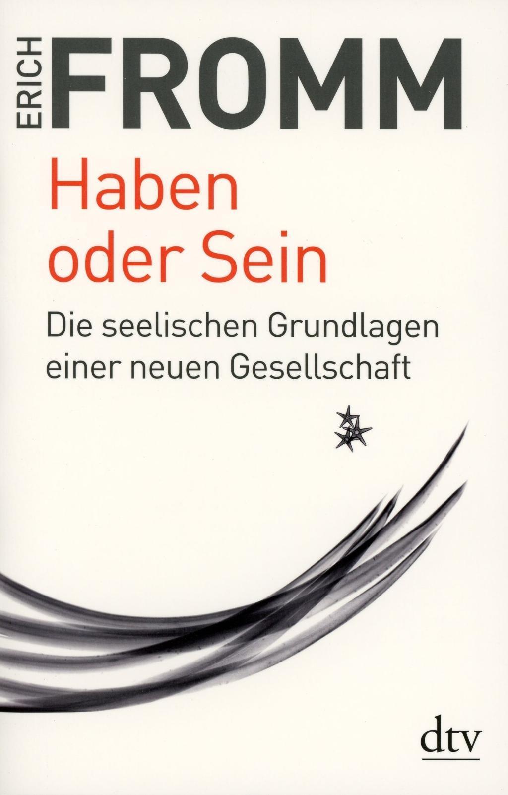 Cover: 9783423342346   Haben oder Sein   Die seelischen Grundlagen einer neuen Gesellschaft