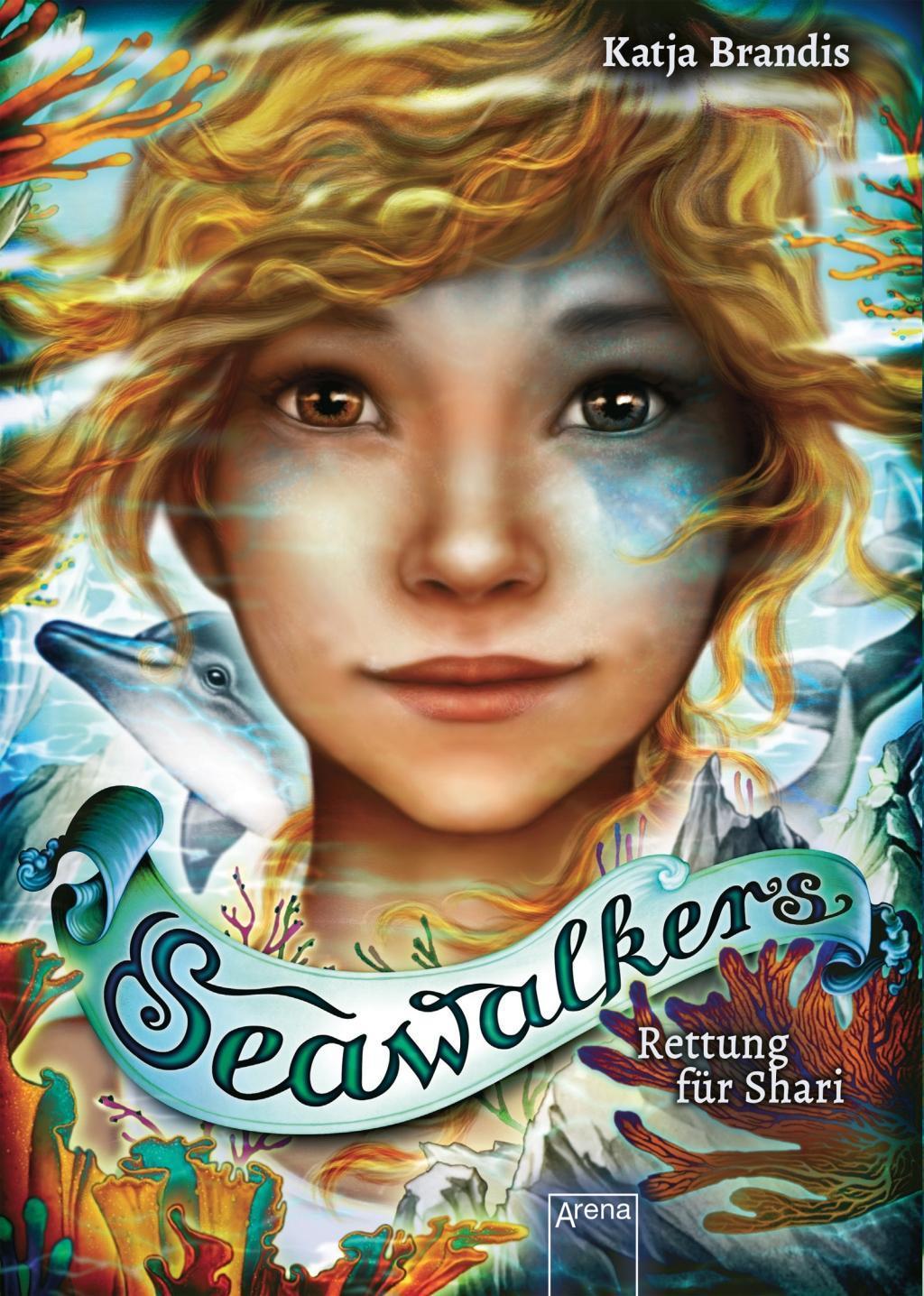Cover: 9783401606132 | Seawalkers (2). Rettung für Shari | Katja Brandis | Buch | Deutsch