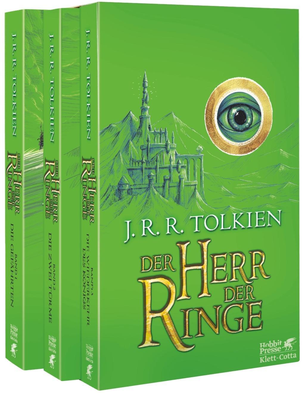 Cover: 9783608939842 | Der Herr der Ringe - Neuausgabe 2012 | John R Tolkien | Taschenbuch