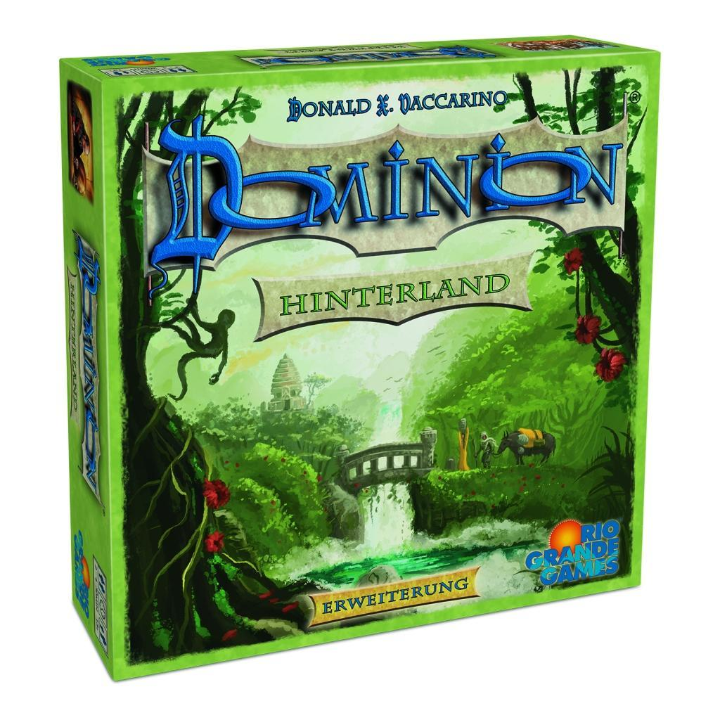 Cover: 4042677014184 | Dominion Hinterland | Rio Grande Games | Spiel | Deutsch | 2020
