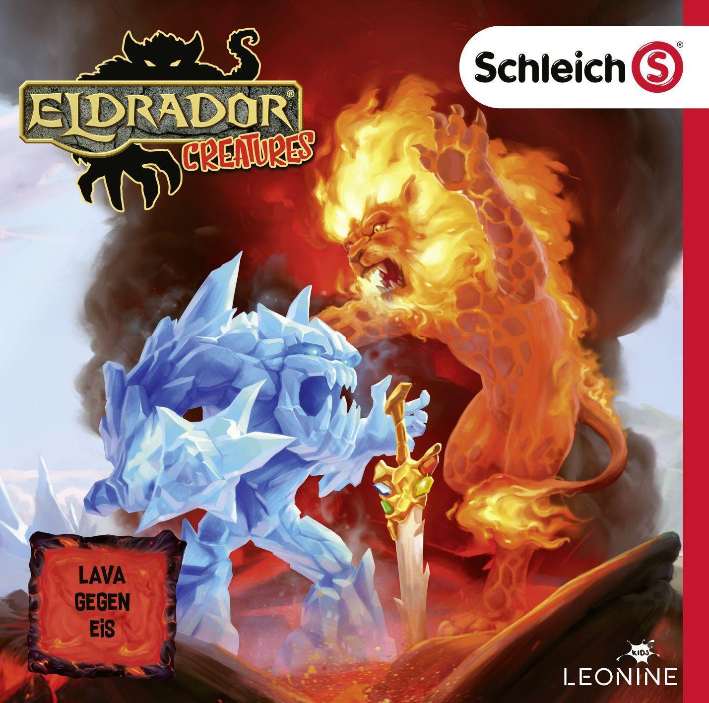 Cover: 4061229138321   Schleich Eldrador Creatures CD 01   Lava gegen Eis   Audio-CD   2020