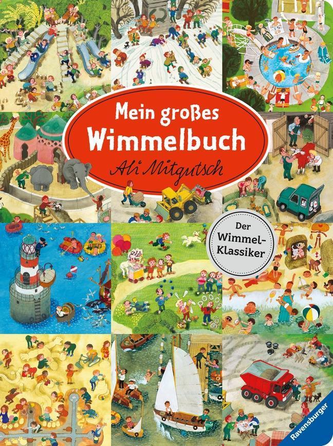 Cover: 9783473438419 | Mein großes Wimmelbuch | Buch | Deutsch | 2019