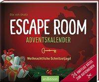Cover: 9783845842356 | Escape Room Adventskalender. Weihnachtliche Schnitzeljagd. 24 knifflig